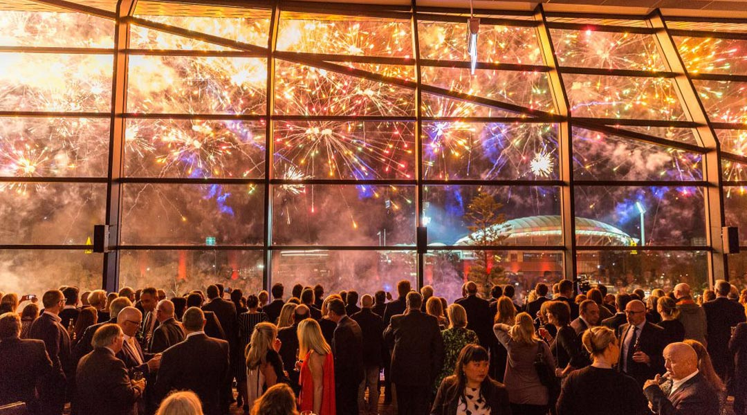 Fireworks Display at Adelaide Convention Centre