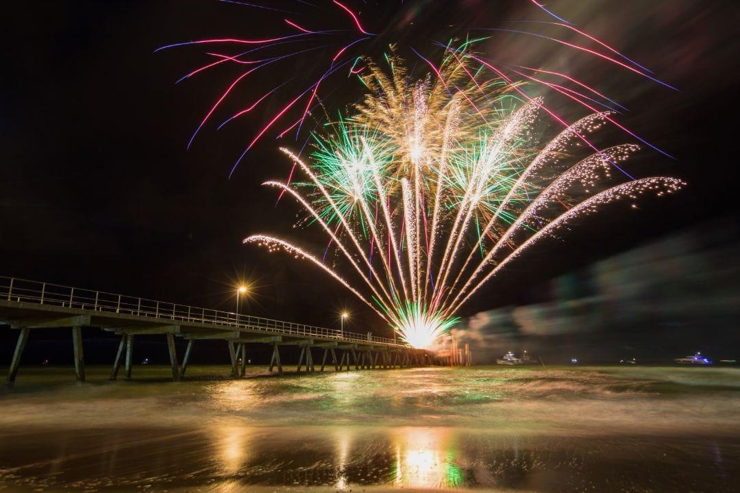Fireworks Display at Semaphore